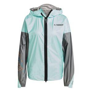 Adidas Women's Terrex Agravic TR Pro Rain Jacket Blå