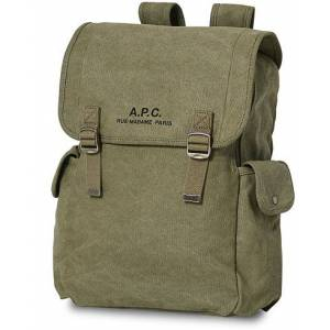 A.P.C. Recuperation Backpack Military