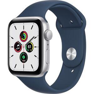 Apple Watch Se 2021 Gps, 44mm, Sølv, Sport