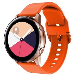 MOBILCOVERS.DK Smartwatch Silikone Rem (20mm) - Orange