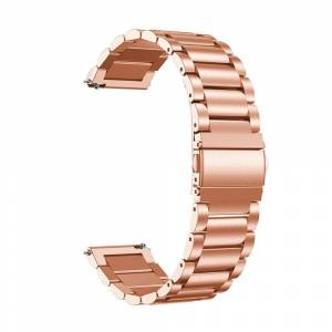 MOBILCOVERS.DK Universal Stainless Steel Smartwatch Rem (22mm) - Rose Gold