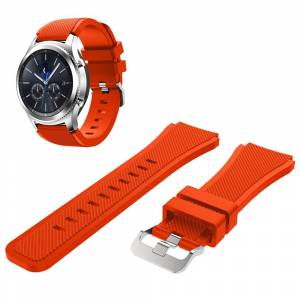 MOBILCOVERS.DK Samsung Classic Silicone Watchband (22mm) - Orange