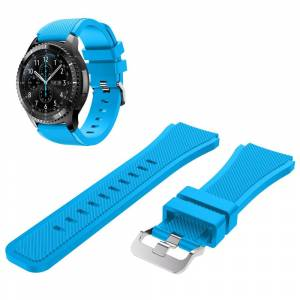 MOBILCOVERS.DK Samsung Classic Silicone Watchband (22mm) - Blå