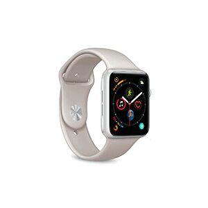 Apple Puro ICON Rem til Apple Watch (42-44mm) Lysegrå