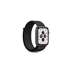 Apple Rem til Apple Watch - Nylon (38-40mm) Sort - Puro