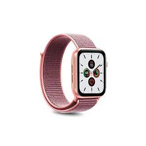 Apple Rem til Apple Watch - Nylon (42-44mm) Rosa - Puro