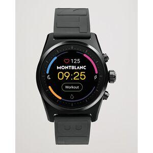 Montblanc Summit Lite Smartwatch Black Rubber Strap men One size Sort