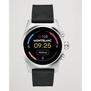 Montblanc Summit Lite Smartwatch Grey/Black Rubber Strap men One size Sort