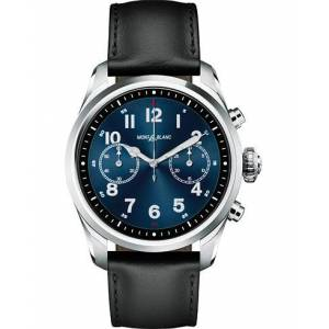 Summit2 42mm Smartwatch Steel / Black Calf