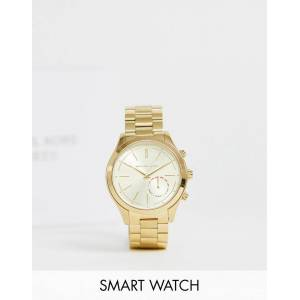Michael Kors MKT4002 ladies gold smart bracelet watch - Gold