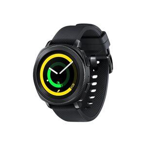 """Samsung Gear Sport SM-R600 - 43 mm - svart - smartklokke med stropp - silikon - svart - L - display 1.2"""" - 4 GB - Wi-Fi, NFC, Bluetooth - 67 g"""