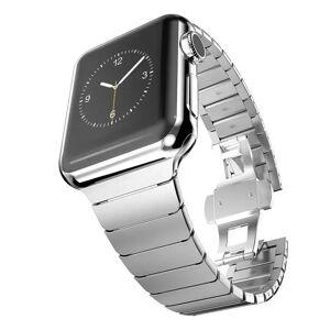 INCOVER Apple Watch Reim 38-40mm Rustfritt Stål M. Pinner - Sølv