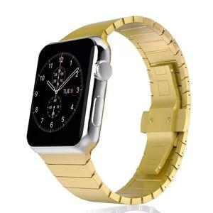 INCOVER Apple Watch Reim 38-40mm Rustfritt Stål M. Pinner - Guld