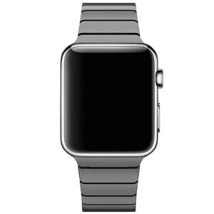 INCOVER Apple Watch Reim 42-44mm Rustfritt Stål M. Pinner - Svart