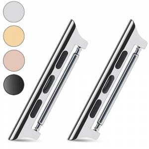 INCOVER Pins Til Apple Watch 42-44mm Rustfritt Stål - Sølv