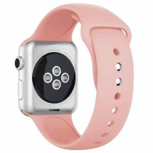 INCOVER Apple Watch 42-44mm Silikonstropp - Rosa