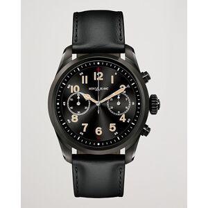 Montblanc Summit2 42mm Smartwatch Steel Black DLC / Black Calf