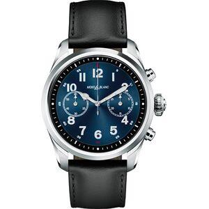 Montblanc Summit2 42mm Smartwatch Steel / Black Calf