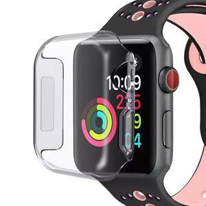 Apple Watch Se/6/5/4 (44mm) Shock Resistant Fleksibelt Deksel Gjennomsiktig