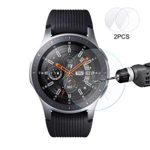 Samsung Hat-Prince Samsung Galaxy Watch 46mm Herdet Glass - Skjermbeskyttelse - Gjennomsiktig (2 Stk.)
