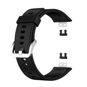 INCOVER Huawei Watch Fit Silikon Reim - Buckle - Svart
