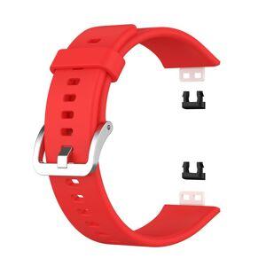 INCOVER Huawei Watch Fit Silikon Reim - Buckle - Rød
