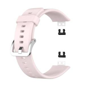 INCOVER Huawei Watch Fit Silikon Reim - Buckle - Pink