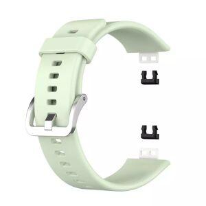 INCOVER Huawei Watch Fit Silikon Reim - Buckle - Grønn