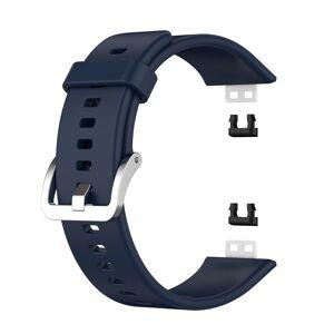 INCOVER Huawei Watch Fit Silikon Reim - Buckle - Mørke Blå