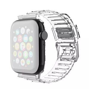 INCOVER Apple Watch (38-40mm) Fleksibel Reim - Gjennomsiktig