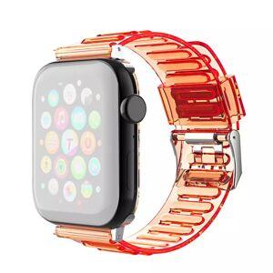 INCOVER Apple Watch (42-44mm) Fleksibel Reim - Oransje