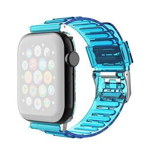 INCOVER Apple Watch (42-44mm) Fleksibel Reim - Blå