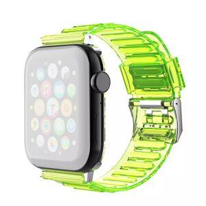 INCOVER Apple Watch (42-44mm) Fleksibel Reim - Gul
