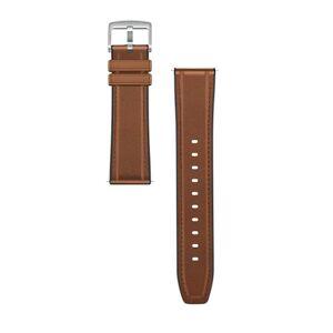 Huawei Original Huawei Watch Gt Skinn & Silikon Reim - Saddle Brown