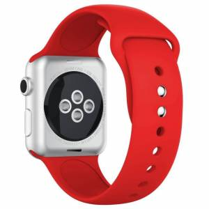 INCOVER Apple Watch 42-44mm Silikonstropp - Rød