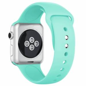 INCOVER Apple Watch 42-44mm Silikonstropp - Cyan
