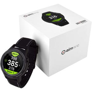 GOLFBUDDY Aim W10 Smart Golf GPS Watch, smartklokke STD BLACK