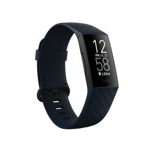 Fitbit Charge 4 Storm Blue/Black, aktivitetsmåler, unisex One Size Storm Blue/Black