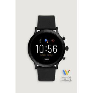 Fossil Klocka The Carlyle HR Smartwatch Svart