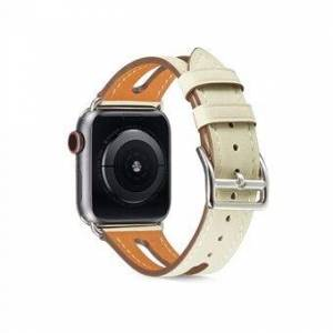 Toppskikt Byte av klockarmband i läder för Apple Watch Series 1/2/3 38mm / Series 4/5/6 / SE 40mm