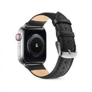 Apple Äkta läderklockband för Apple Watch Series 6 SE 5 4 44mm / Series 3 2 1 42mm