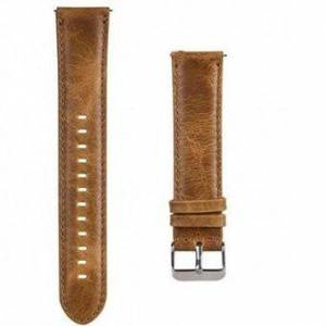 22mm Crazy Horse Texture Leather Smart Bracelet Strap for Huawei Watch GT