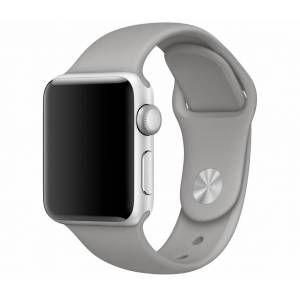 SERO Armband För Apple Watch I Silikon, 42/44mm, Stone
