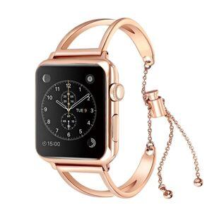 Apple Armband Metall V till Apple Watch 38mm -Rose Gold