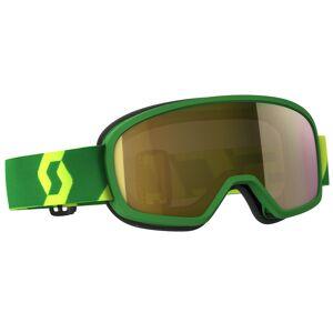 Scott Buzz MX Pro Barna Motocross briller Grønn Gul