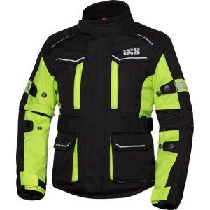 IXS Tour ST 1.0 Barna motorsykkel tekstil jakke Svart Gul 146 152