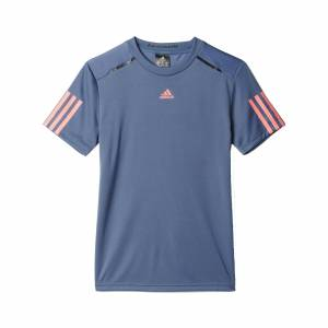 Adidas Barricade Tee JR Tech Ink/Flash Red Size 128 128