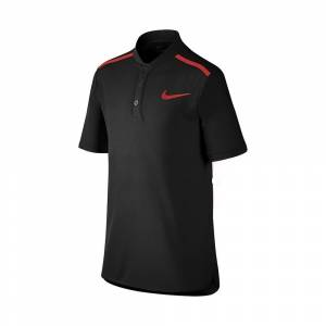 Nike Performance Polo Boy Black 140