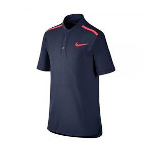 Nike Performance Polo Boy Navy Blue/Pink Size 128 128