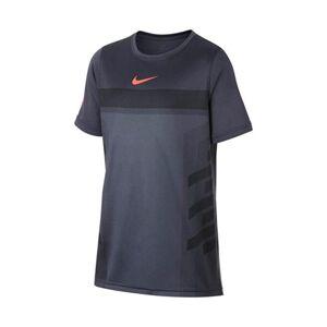 Nike Court Rafael Nadal Legend Tee Boy Hyper Crimson Grey 140